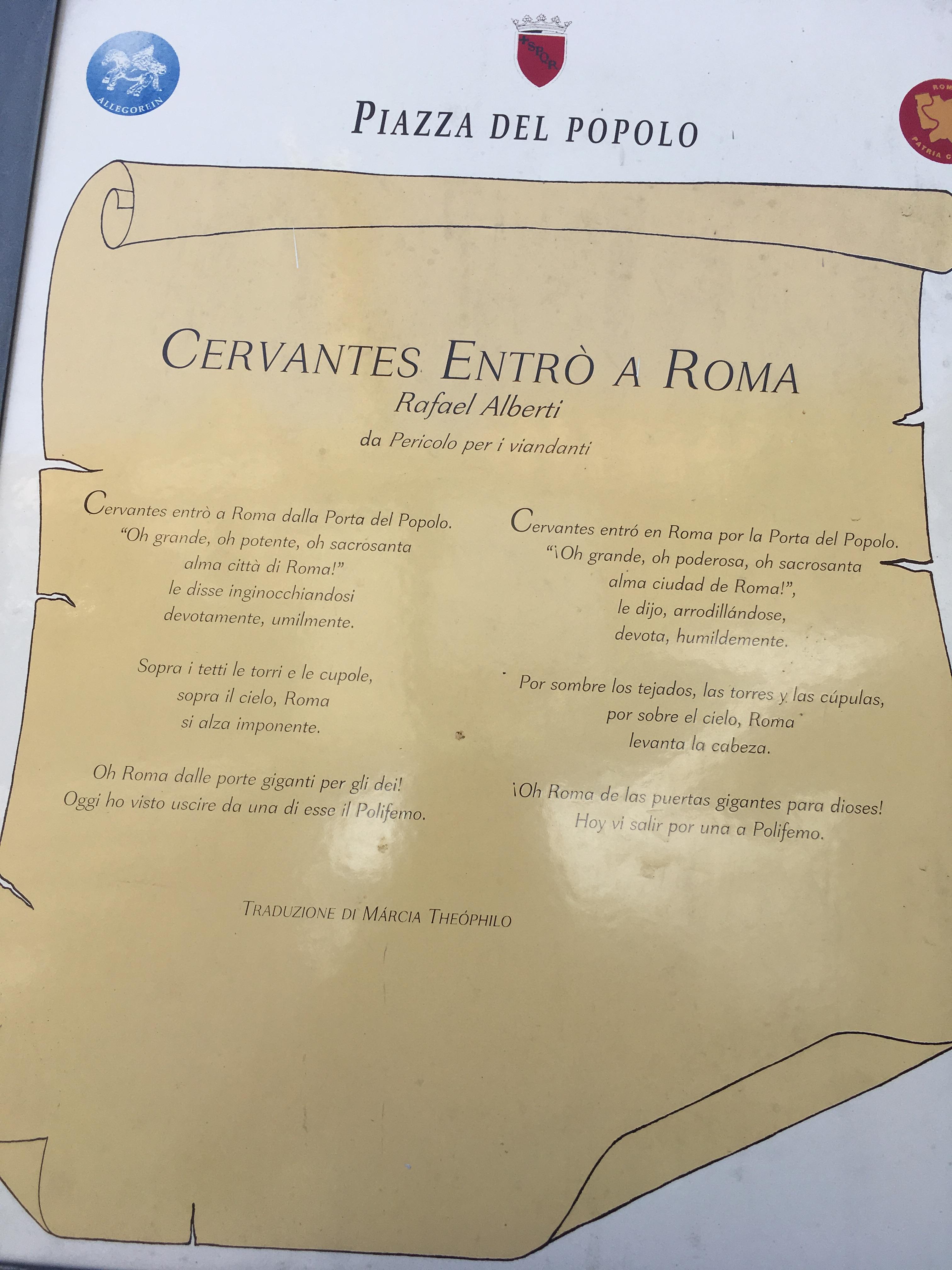 Cosa vedere a roma in un giorno poesia
