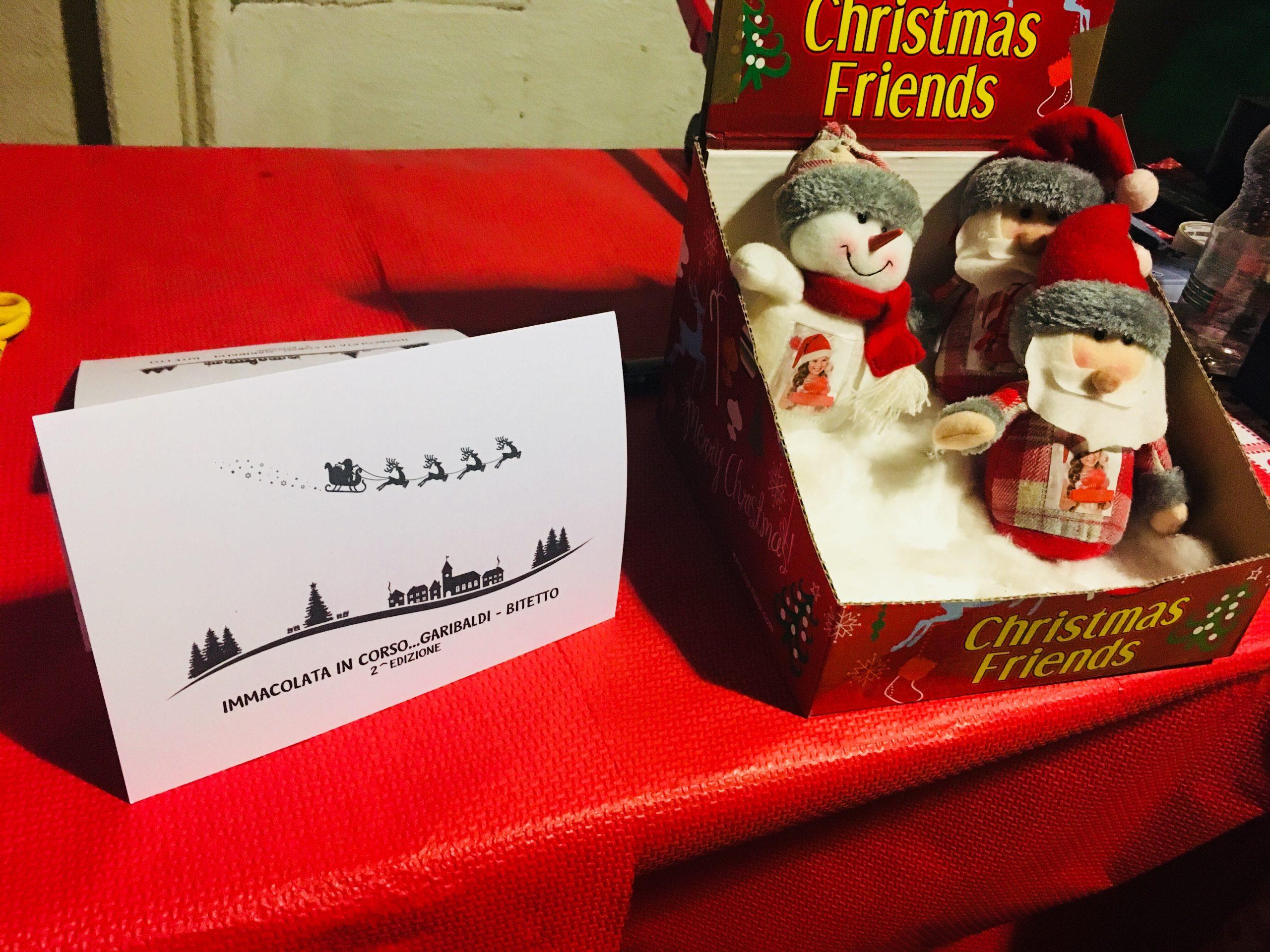 It's Christmas – Immacolata in Piazza Garibaldi a Bitetto – Il Lupo e la Rondine 🎅🏼