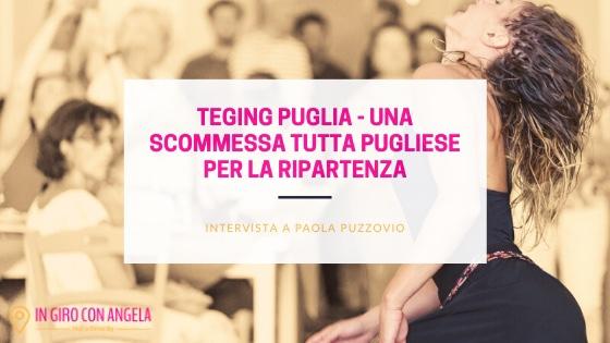 TEGing Puglia: una scommessa tutta pugliese per la ripartenza