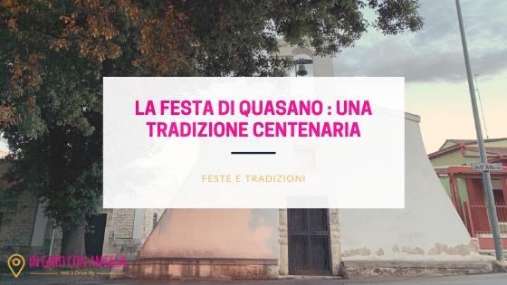 La Festa di Quasano: una tradizione centenaria