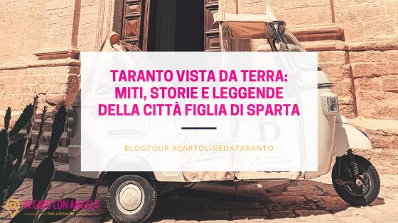 Taranto vista da Terra: miti, storie e leggende della città Figlia Di Sparta
