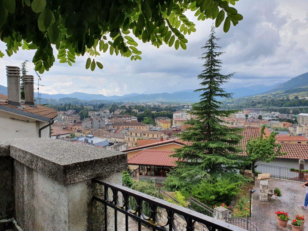 Castel di Sangro vista dall'alto