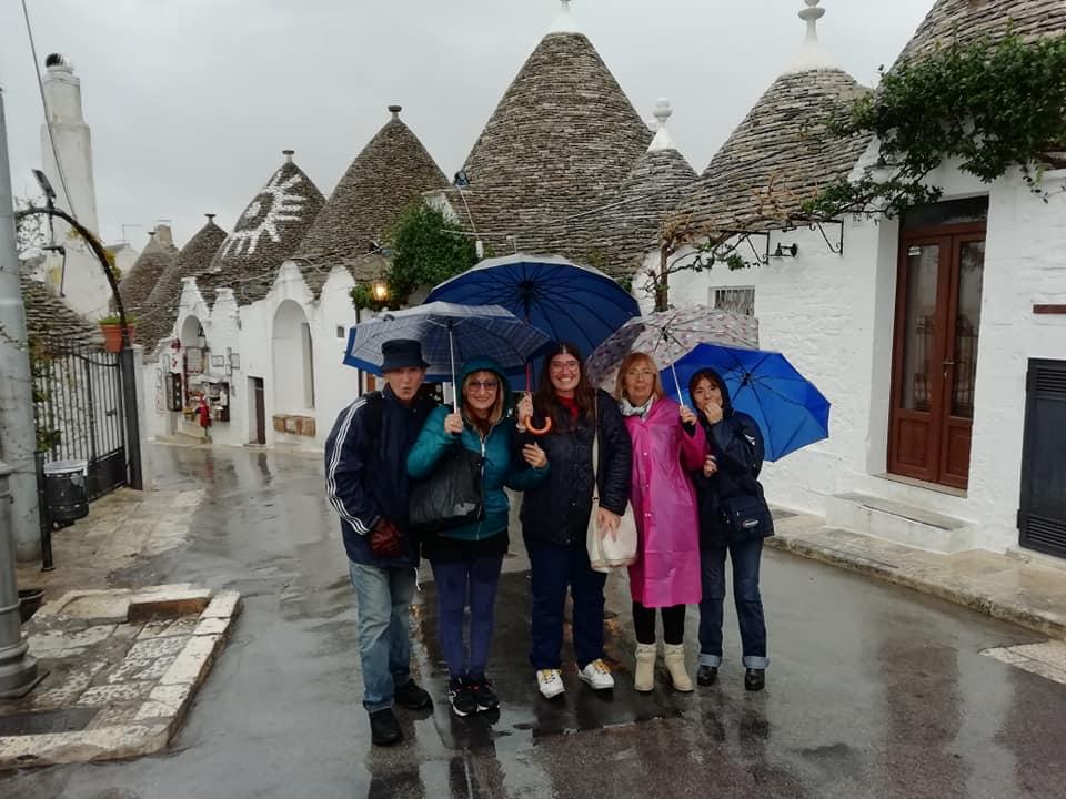I martedì della Guida Turistica -Alberobello sotto la pioggia