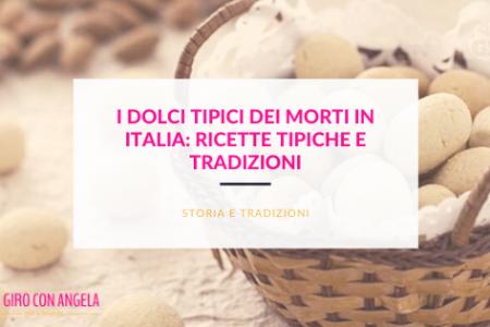 dolci tipici dei morti in Italia