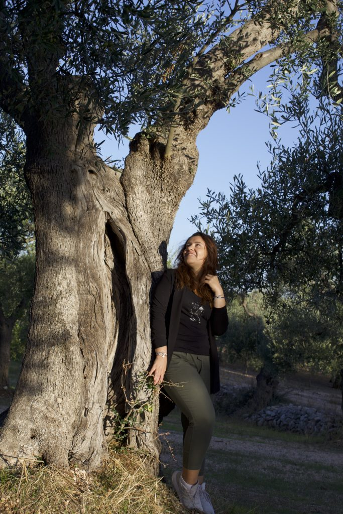 turismo dell'olio per la ripartenza - angela e gli ulivi