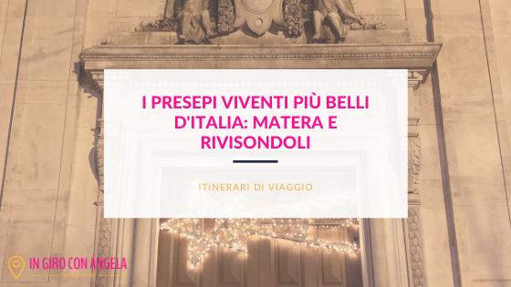 I presepi viventi più belli d'Italia: Matera e Rivisondoli