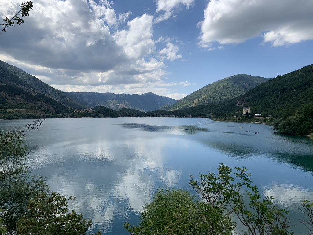 luoghi da visitare nel 2021 lago di Barrea